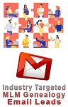 Industry Targeted MLM Genealogy Email Leads