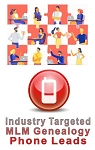 Industry Targeted MLM Genealogy Phone Leads
