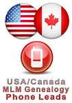 USA/Canada Targeted MLM Genealogy Phone Leads